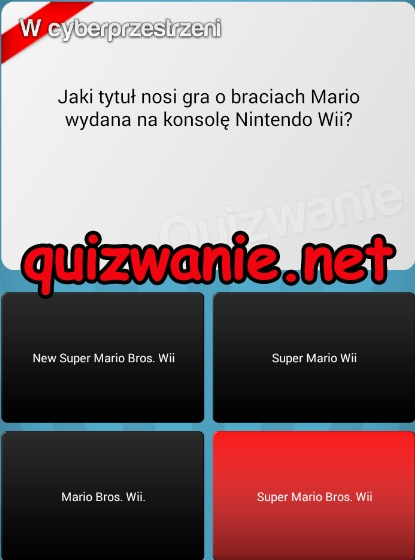 1 - New SUper Mario Bros Wii